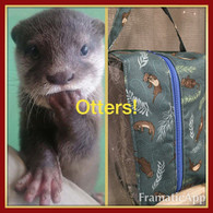 Box Bag - Clear Deja Vue - Otters