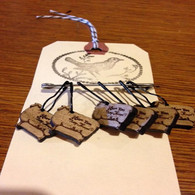 Retromantic Fripperies - Cedar Stitch Markers