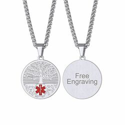 Medical ID Necklace