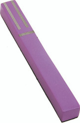 Purple Anodized Metal Mezuzah Case By Yair Emanuel