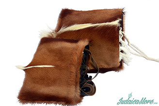 Exclusive Leather Tallit + Tefillin Bag 100% Natural Skin