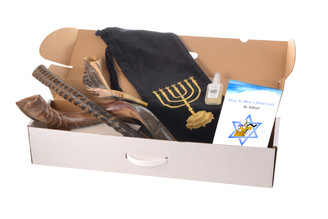Set of 3 Horn Shofar : Kudu Oryx  Ram + Bag + spray + Guide + Carrying case