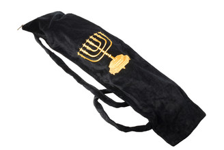 Classic Yemenite Shofar Velvet Bag