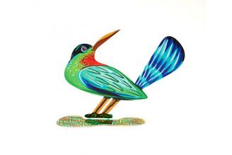 Winning Bird Sculpture (Double Sided) By David Gerstein