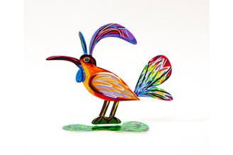 Gay Bird Sculpture (Double Sided) By David Gerstein