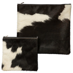 Exclusive Cow Leather Tallit + Tefillin Bag 100% Natural Skin