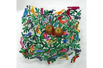 Birds of the World Fruit Bowl By David Gerstein