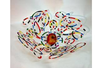 Doodle Fruit Bowl By David Gerstein