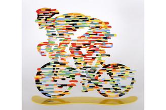 Armstrong Bike Sculpture By David Gerstein