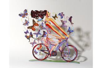 Rider In Euphoria  Sculpture By David Gerstein