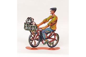 Country Rider Sculpture By David Gerstein