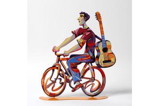 Troubador rider  Sculpture By David Gerstein