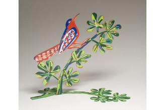 Song bird Bird Sculpture By David Gerstein