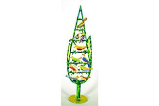 Cypress Tree Sculpture By David Gerstein
