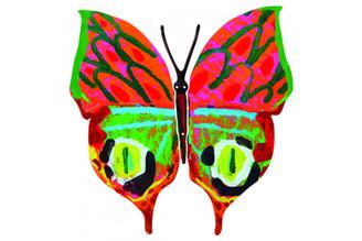 Merav Butterfly ( all Hanging ) By David Gerstein