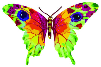 Vered Butterfly ( Wall Hanging ) By David Gerstein