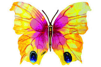 Ruth Butterfly ( Wall Hanging ) By David Gerstein