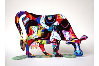 Lola Cow Sculpture By David Gerstein