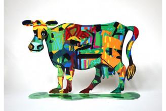 Medina Cow Sculpture By David Gerstein