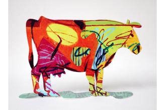 Dora Cow Sculpture By David Gerstein