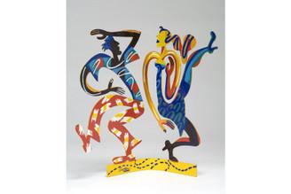 Swingers Sculpture By David Gerstein