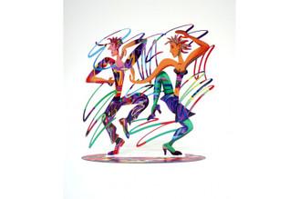 Twisters Sculpture By David Gerstein