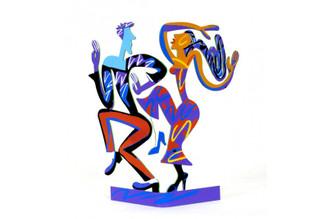 Dancers Sculpture By David Gerstein