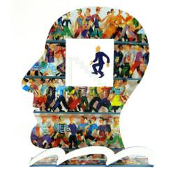 Head to the Top Head Sculpture By David Gerstein