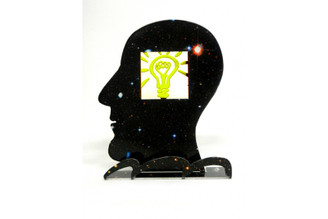 Head - what an idea Inspiration Head Sculpture By David Gerstein