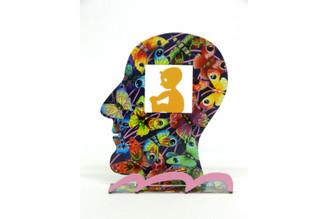 Baby's Soul Head Sculpture By David Gerstein
