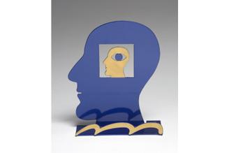 Head Within a Head Head Sculpture By David Gerstein