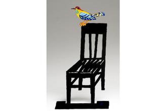 Empty Chair Sculpture By David Gerstein