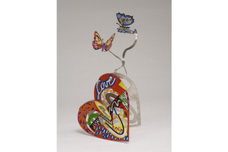 Open Heart Sculpture By David Gerstein