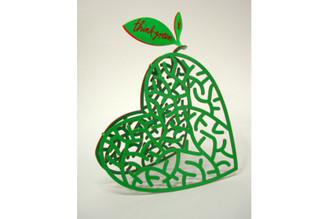 Think Green Sculpture By David Gerstein