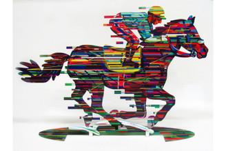 Jockey Sculpture By David Gerstein