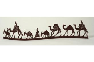 Camel Caravan Sculpture By David Gerstein