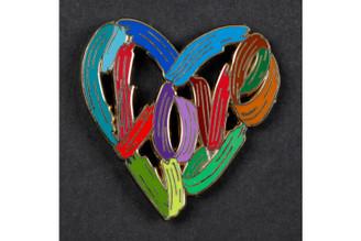 Love Heart By Brooch David Gerstein