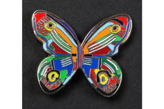 Butterfly B Brooch By David Gerstein