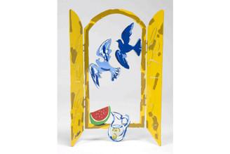 Israeli Summer Window Sculpture By David Gerstein