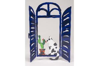 Coexistence Window Sculpture By David Gerstein