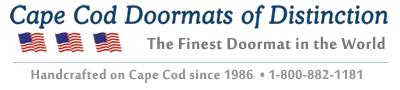 Cape Cod Doormats