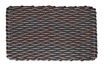 Bluestone & Brown Wave Doormat