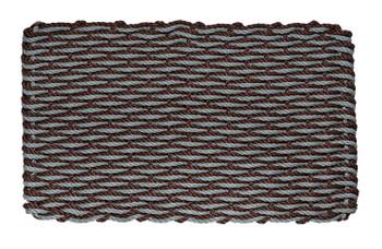 Bluestone & Brown Wave Doormat