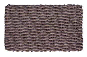 Slate & Taupe Wave Doormat