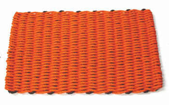 Halloween doormat orange