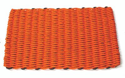 Halloween doormat orange