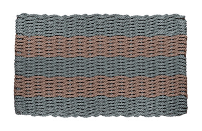 Bluestone and Taupe Shoreline Doormat