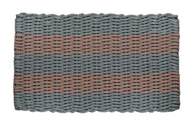 Bluestone and Taupe Shoreline Doormat