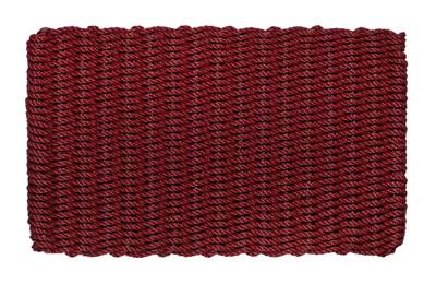 Burgundy Basket Weave