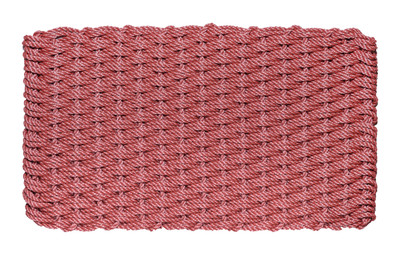 Brick Red Basket Weave